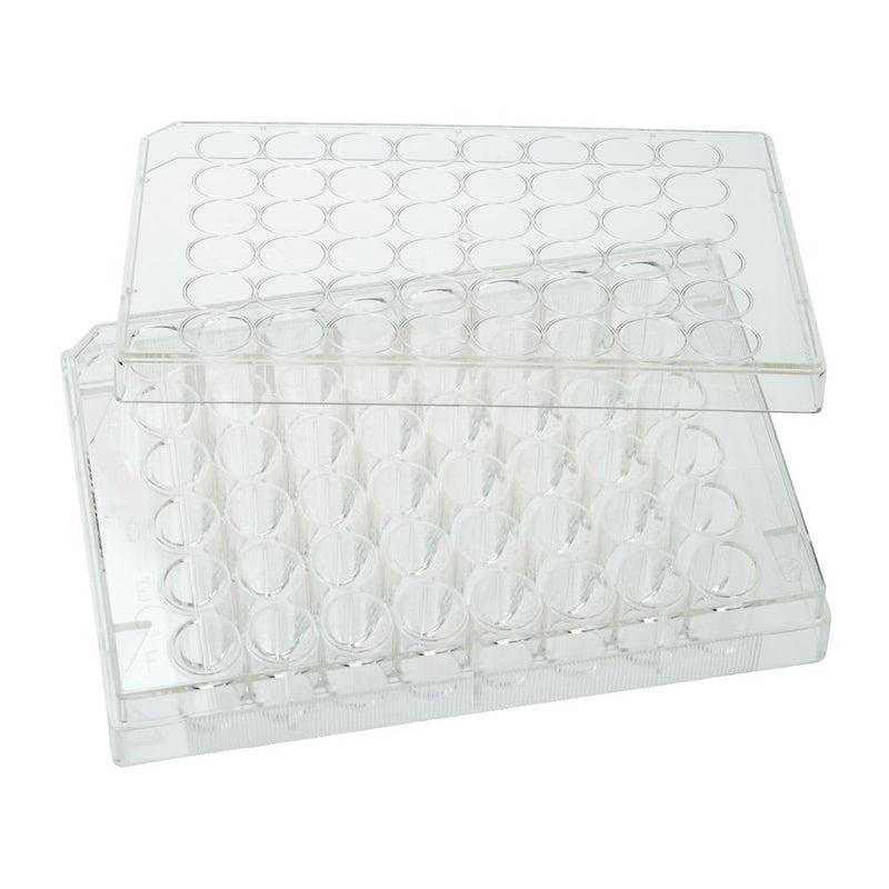 CELLTREAT 229147 48 Well Tissue Culture Plate with Lid, Individual, Sterile (50/pk)
