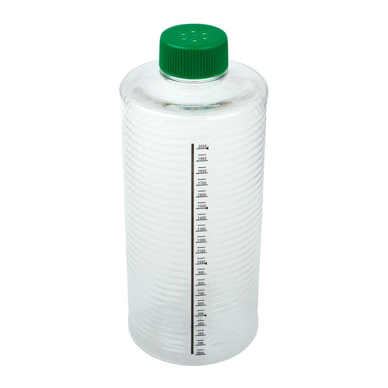 CELLTREAT 229387 1900cm² ESRB Roller Bottle, Vented Cap, Sterile