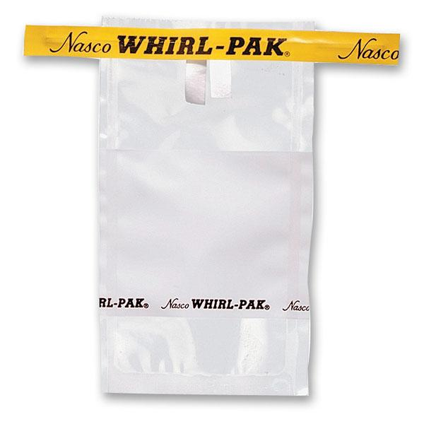Nasco B01067WA Whirl-Pak® Write-On Bags - 1 oz. (29 ml) - Box of 500