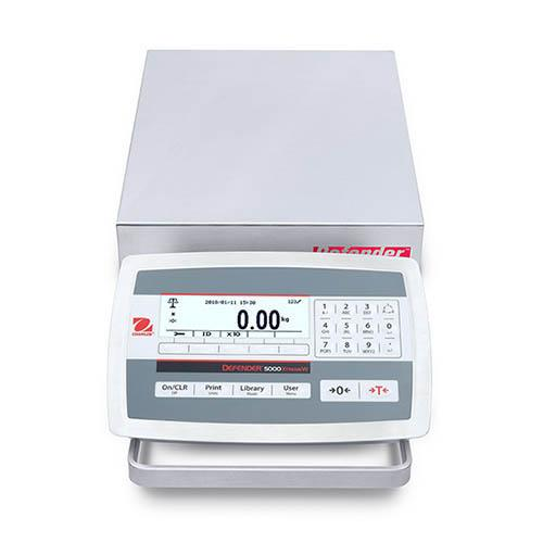 Ohaus D52XW5WQS5 DEFENDER 5000 WASHDOWN Bench Scale