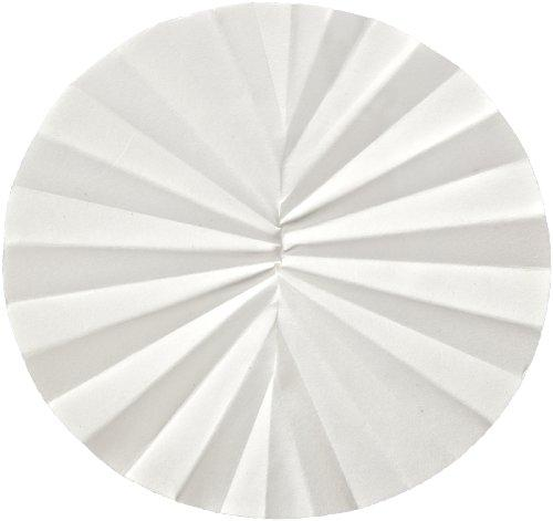 Whatman 10311651 Filter Circles, 240mm Dia, Folded Prepleated Grade 595
