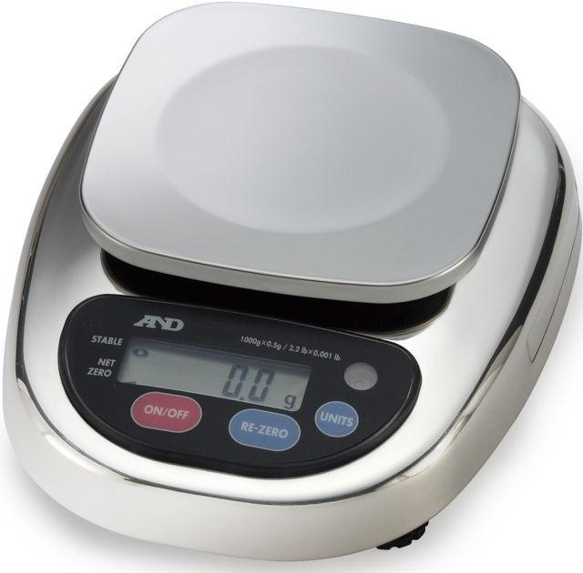 A&D HL-3000LWP HL-WP Series Washdown Compact Scale