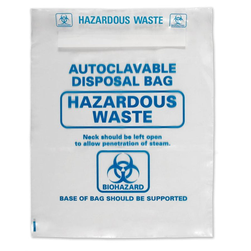 Heathrow Scientific 1002B Autoclave Bags 415 x 600mm, Natural