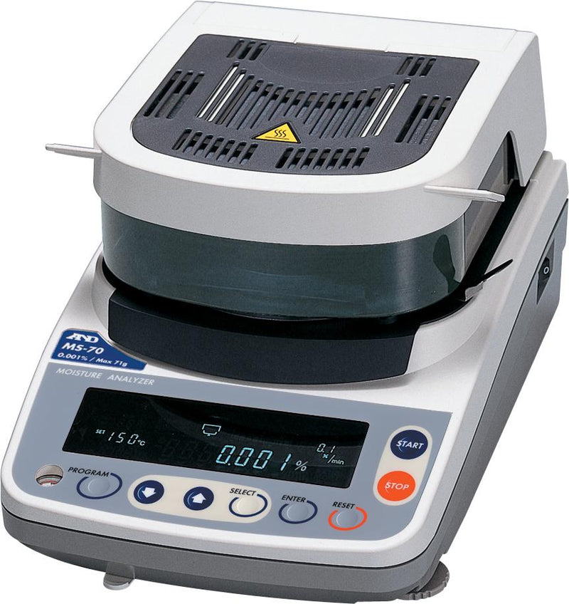 A&D MS70 Moisture Analyzer (DEMO UNIT)