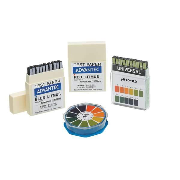 Advantec UNIV-R Test Papers UNIVERSAL pH 1-11 PAPER  ROLL