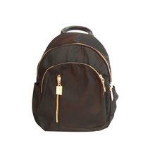 Load image into Gallery viewer, Black Backpack