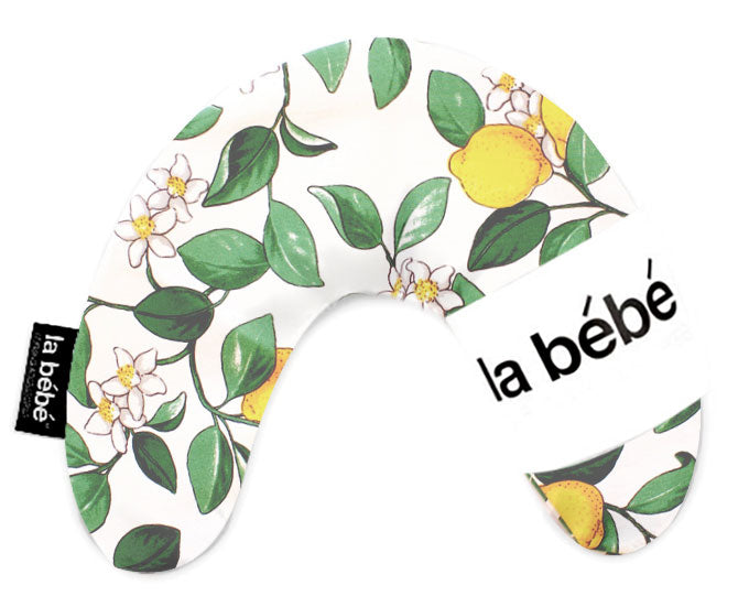 La Bebe™ Mimi Nursing Cotton Pillow Art.3328 Lemon Tree Pakaviņš spilventiņš 19x46cm