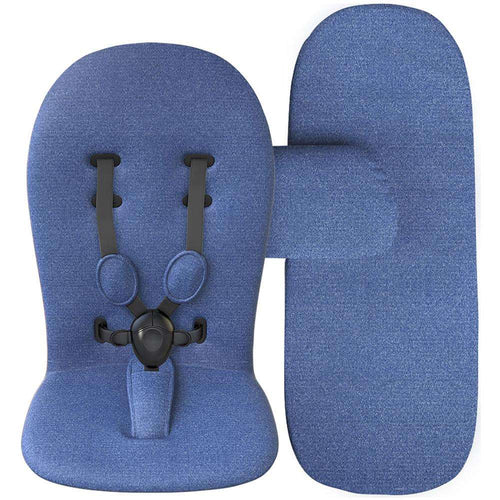 MIMA set (mattress, cushioning,carry cot cover) Denim Blue S103DB - Limpopo.eu