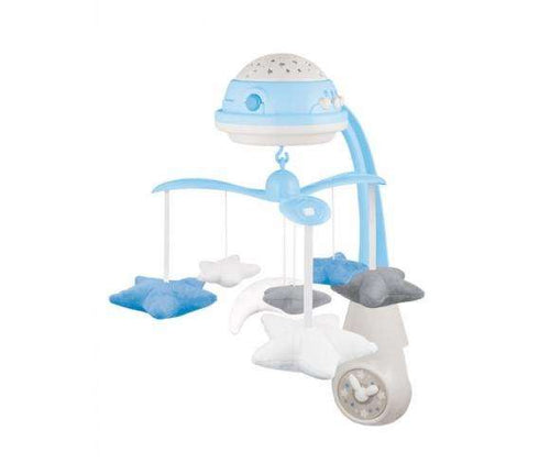 CANPOL BABIES 3in1 musical mobile with projector, bue, 75/100_blu - Limpopo.eu