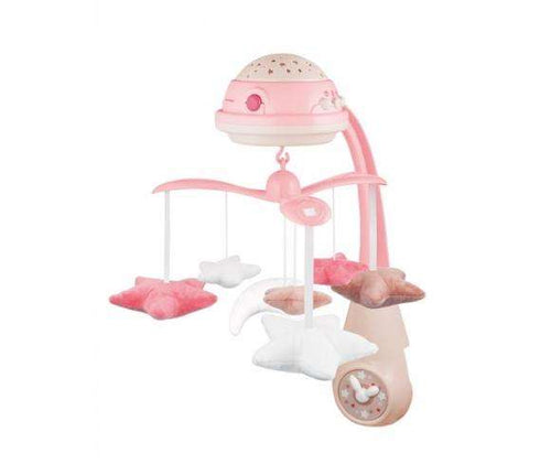 CANPOL BABIES 3in1 musical mobile with projector, pink, 75/100_pin - Limpopo.eu