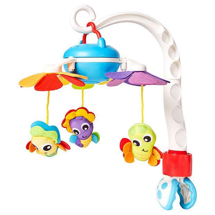 PLAYGRO musical hanging toy Travel Mobile, 0185479 - Limpopo.eu