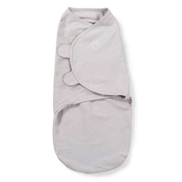 Детская пеленка из хлопка Summer Infant Original SwaddleMe  Grey small - Limpopo.eu