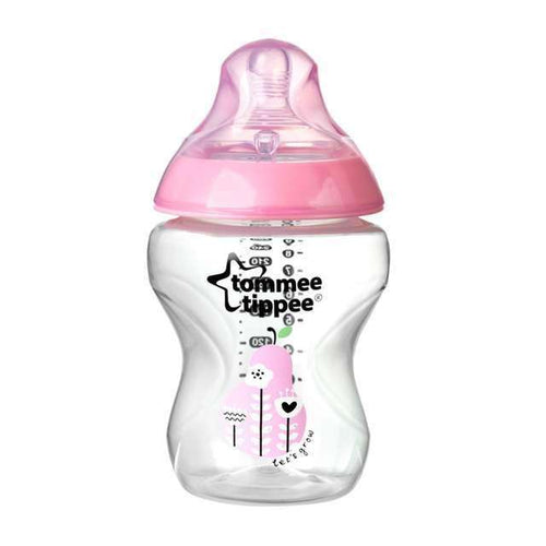 Tommee Tippee Art.42250287 Closer To Nature Girl Pudelīte 260ml., 0+ mēn. - Limpopo.eu