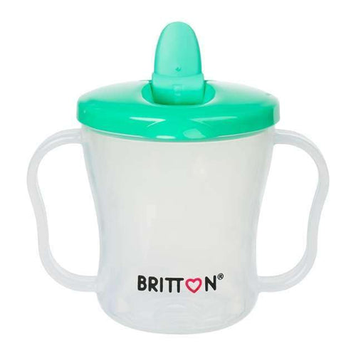 Britton First Cup Art.B1521 Green Pirma krūzīte ar  snipīti, 200 ml - Limpopo.eu