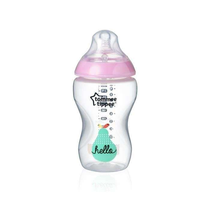 Tommee Tippee Art.42269887 Closer To Nature Girl Pudelīte 340ml., 3+ mēn. - Limpopo.eu