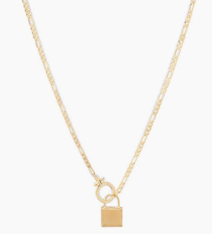 Charlie Necklace Gold