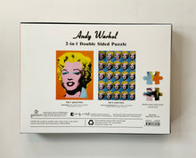 Load image into Gallery viewer, Andy Warhol 2 in 1 Double-Sided Marilyn Puzzle