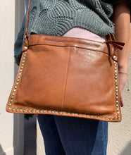 Load image into Gallery viewer, Gabriel Leather Stud Crossbody