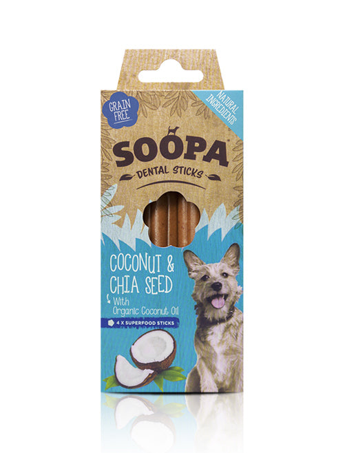Soopa Coconut Chia Seed Sticks