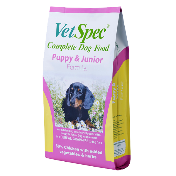 Vetspec Puppy & Junior Formula - Chicken