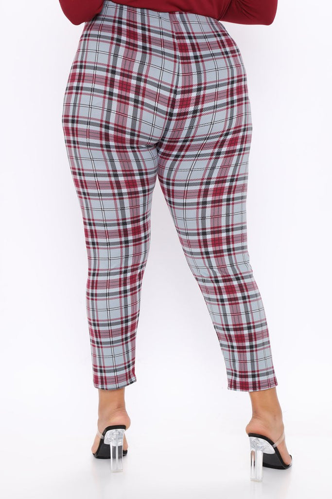 WALDORF PLAID LEGGINGS