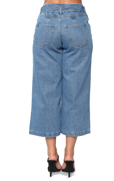 ADORN WIDE LEG HIGH RISE JEANS
