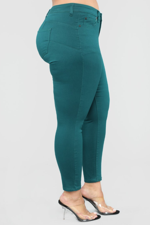 JUNGLE MIDRISE SKINNY JEANS