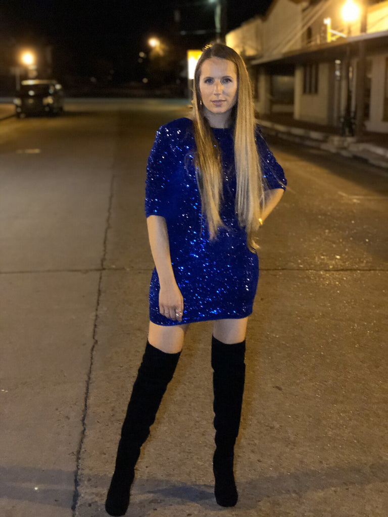 TASMANIAN BLUE HOLIDAY DRESS