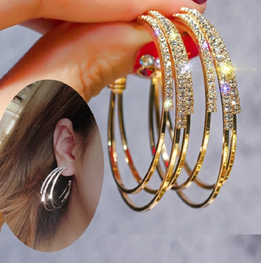 COSTELLO STACKED EARRINGS