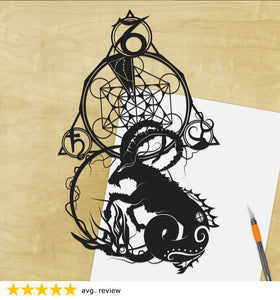 UNFRAMED Papercut Art