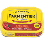Parmentier Sardines in sunflower oil and chili 135g