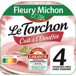 Fleury Michon Rindless cooked ham 4 slices 160 g