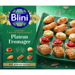 Blini Small puff pastries Cheese Platter 420g