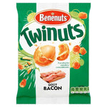 Benénuts Twinuts coated peanuts with bacon flavor 150g - Mon Panier Latin