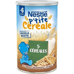 Nestlé Small Cereal 5 Cereals 6 months old 400g - Mon Panier Latin
