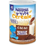 Nestlé Small cereal cocoa powder from 6 months 400g - Mon Panier Latin