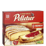 Pelletier Toasted wheat bread made in France 2x12 slices 500g - Mon Panier Latin