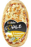 Sodebo Pizza crust with ham and Emmental cheese 600g - Mon Panier Latin