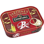 Connétable Old fashioned red label sardines 135g - Mon Panier Latin