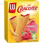 Cracotte Crispy toast with raspberry filling made in France 200g