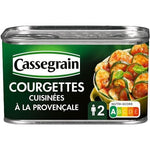 Cassegrain Courgettes cooked in Provence style and olive oil 375g