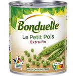 Bonduelle Extra fine peas without preservatives from France 280g