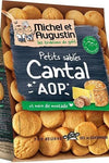 Michel et Augustin Small shortbread cookies with AOP cantal and nutmeg 100g