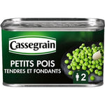 Cassegrain Soft and tender selection peas 280g
