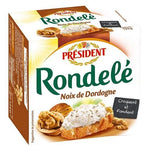 President Rondelé Cheese with Dordogne nuts 125g