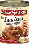 William Saurin Sausages with lentils without coloring 840g