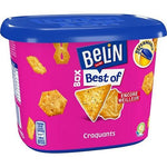 Belin Best of assorted salted crackers resealable box 205g