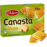 Delacre Canastra wafers filled with gouda 75g