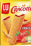 Cracotte Crispy tartine with strawberry filling made in France 200g