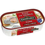 Constable MSC cod liver smoked with beech wood 121g